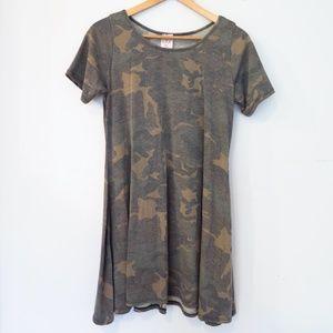 A Line Camo Tunic/Dress